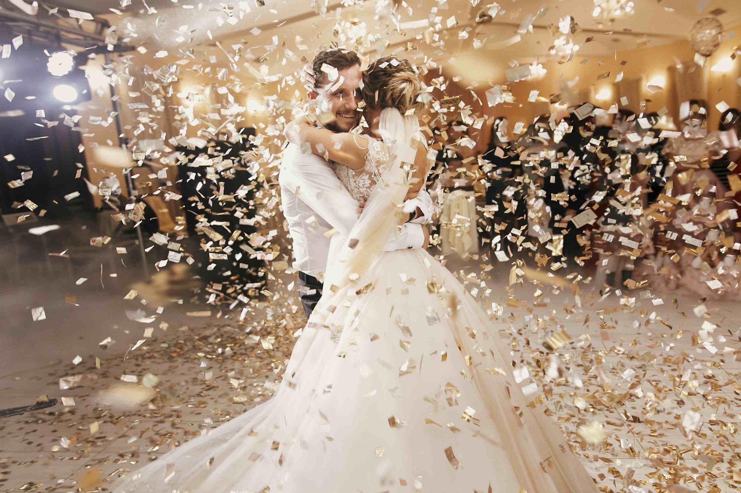 celebration apres mariage