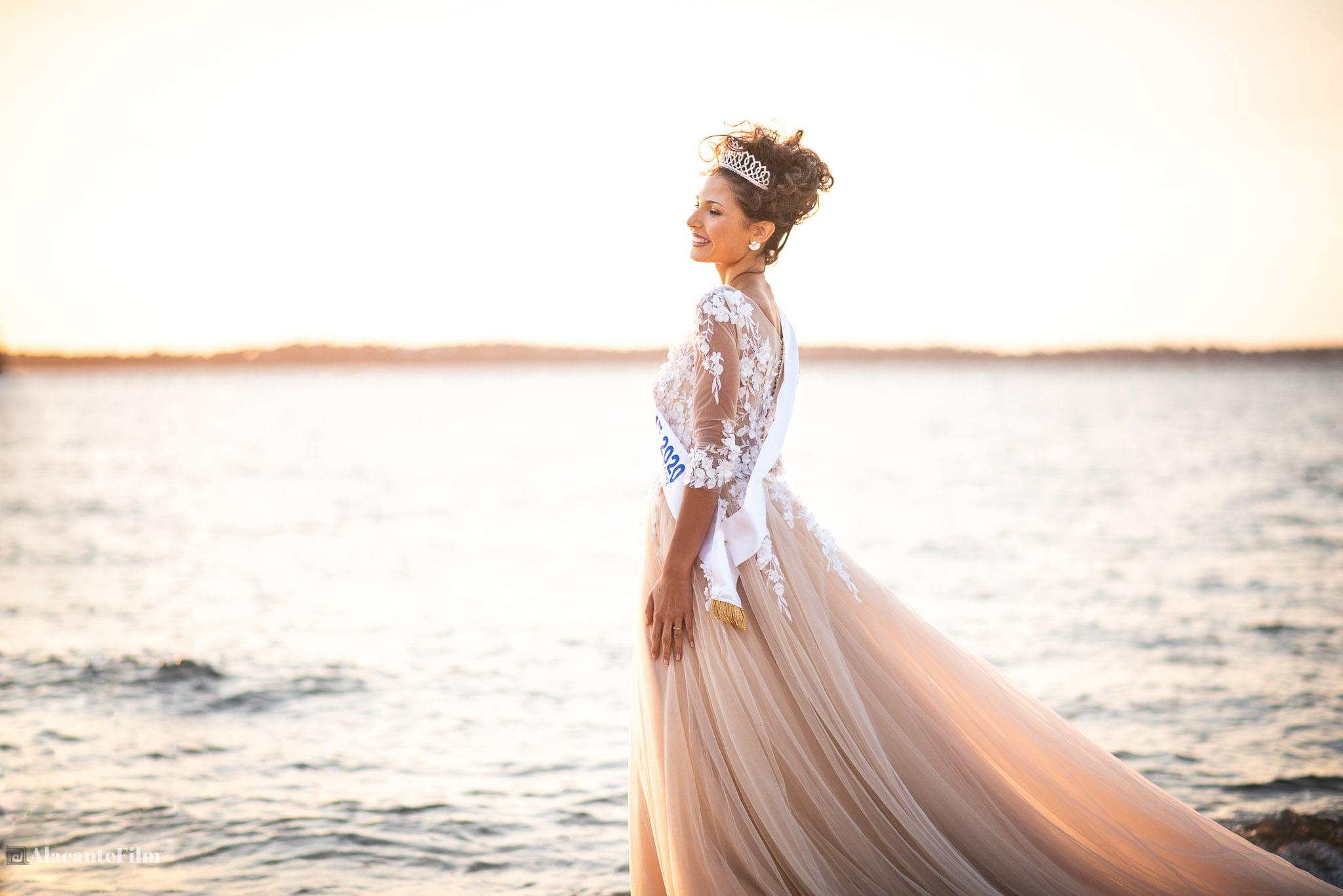 Miss Aquitaine Leila Veslard Bassin Arcachon 2020