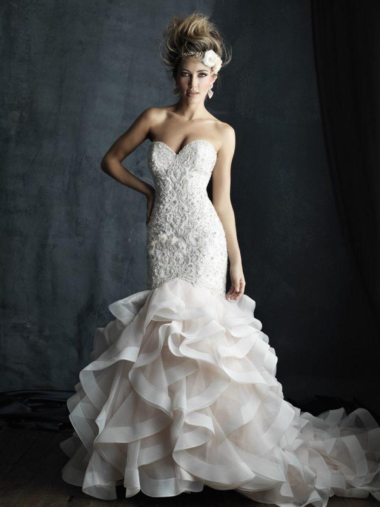 madisson james robe de mariée sirene voluptueuse