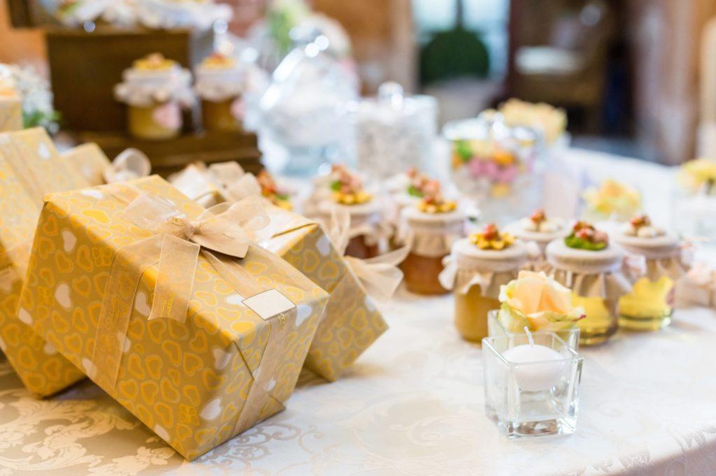 cadeaux de table pour les invités
