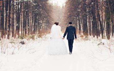 Mariage d'hiver : 7 Avantages