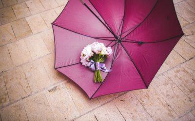 Mariage Pluvieux ? 7 astuces pour bien prévoir