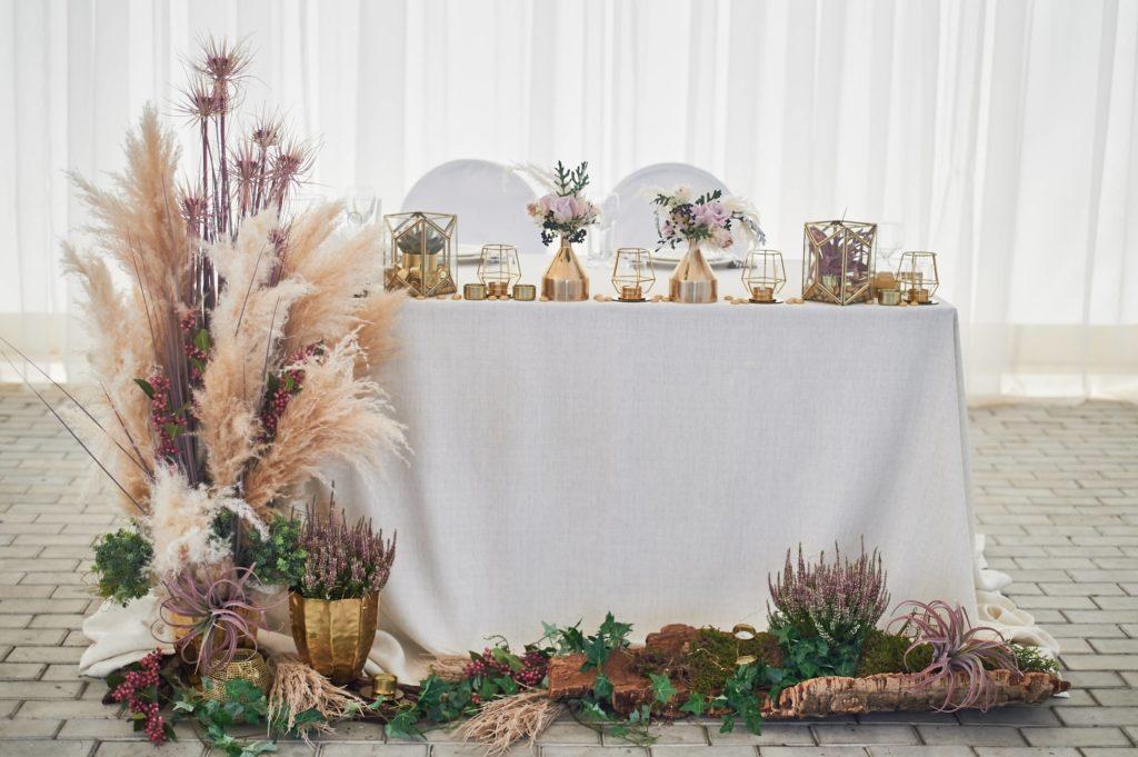 decoration pampa ambiance mariage mer