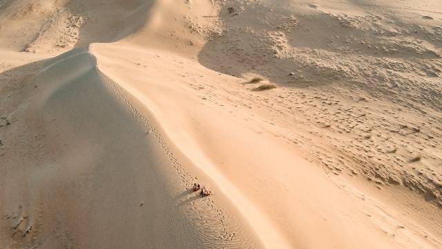 vue au drone dune du pilat