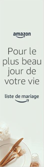 Liste de mariage sur Amazon