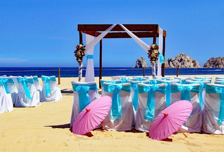 mariage sur la plage mexico
