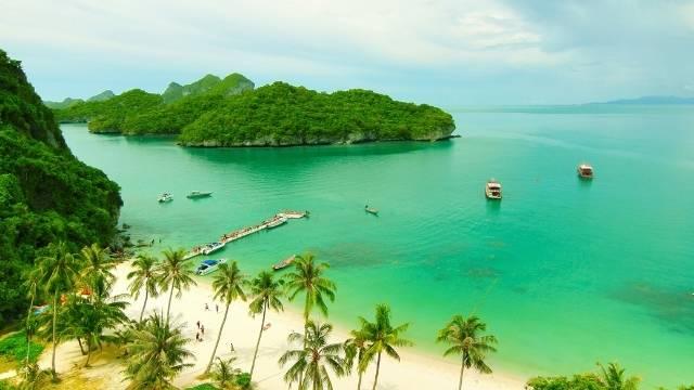 plage ile thailand