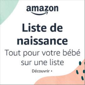 liste de naissance pour bébé sur Amazon