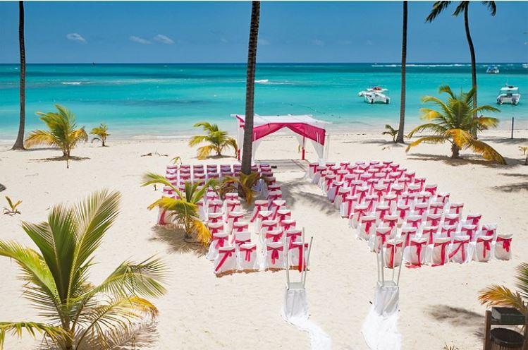 mariage sur la plage punta cana