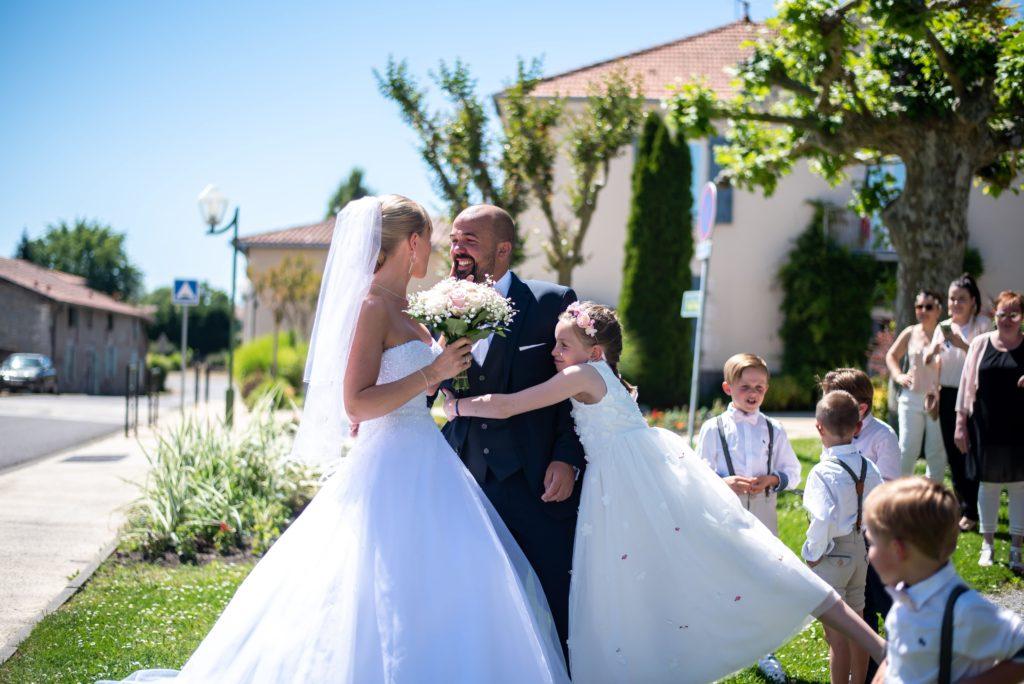 futurs mariés mariage landais