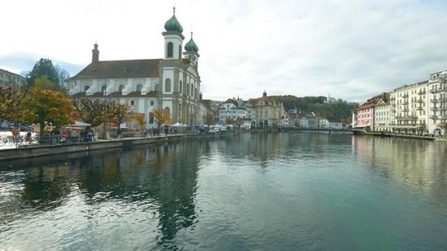 ville de lucerne en suisse