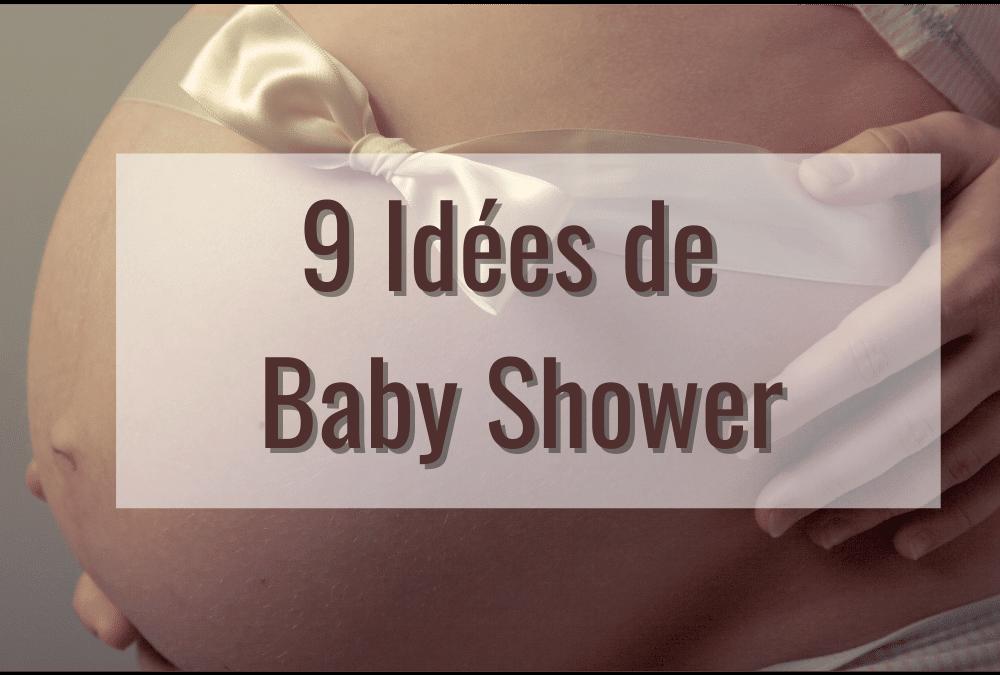 Thème de baby shower