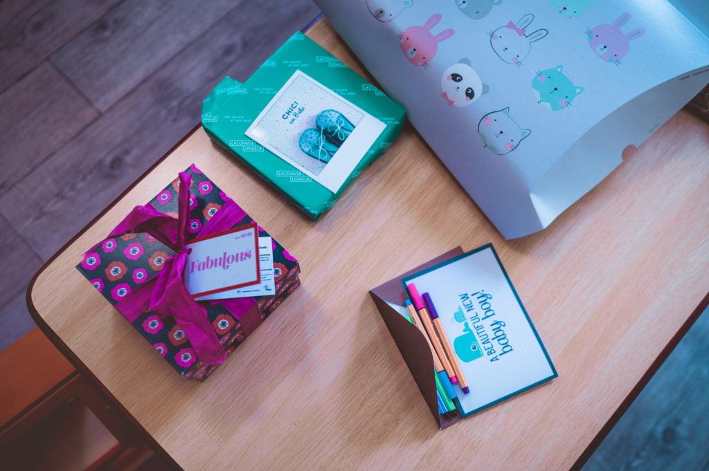 cadeaux pour feter l'arrrivée de bébé
