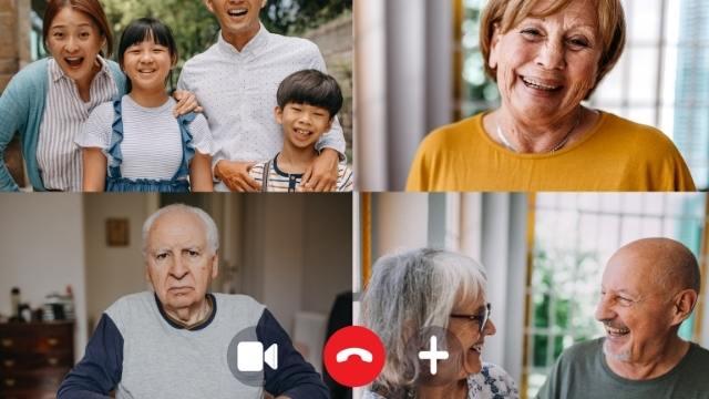 prendre une photo avec un screen de l'écran pendant l'appel visio