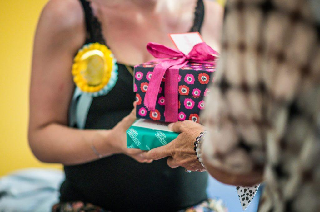 recevoir des cadeau pour futur bébé