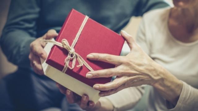 cadeau d'anniversaire de mariage