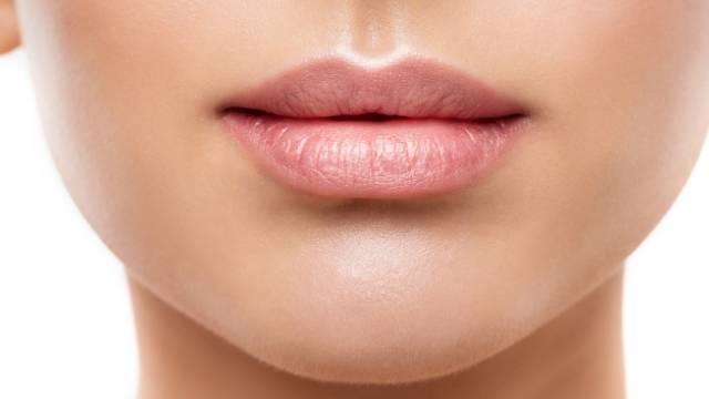 photo detail portrait la bouche