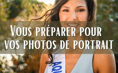 Photos de portrait : bien se préparer