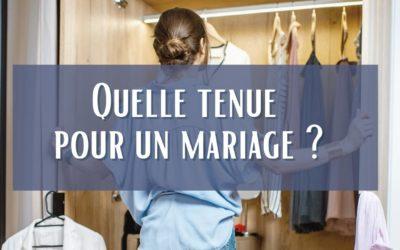 Quelle tenue pour un mariage?