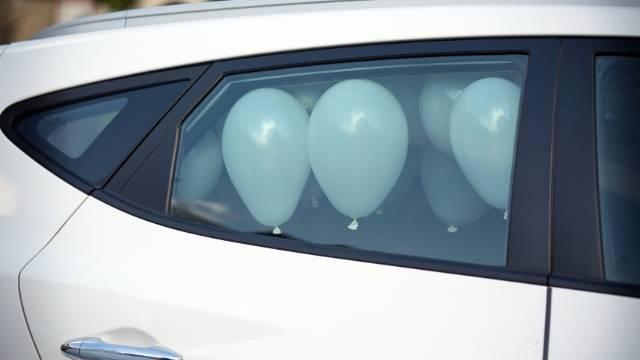 ballon pour sortie de voiture